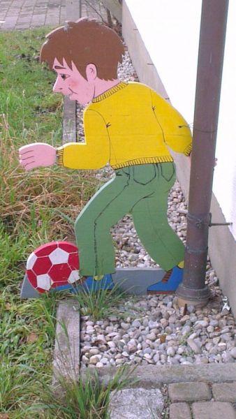 Holzfiguren für Verkehrsberuhigte Zone 2